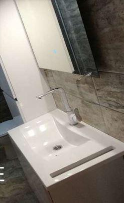 Rušenje, adaptacije kupatila, vodoinstalacije