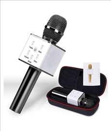 Mikrofon karaoke bluetooth Q7 -  novo