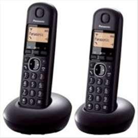 Bežični telefon sa dve slušalice, kx-tgb212, novo