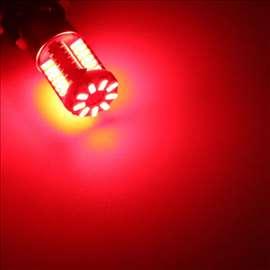 BA15S LED sijalice za migavce crvene PAR