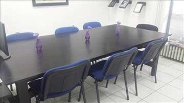 Konferencijski stol i stolice