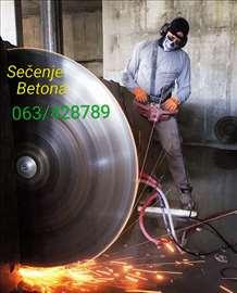 Sečenje i bušenje betona