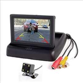 LCD I Rikverc Kamera Komplet za Parkiranje