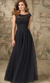 Beautiful long black lace formal dresses