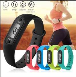 Pedometar sat digitalni merač kalorija Fitness