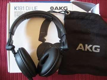 AKG K181 DJ UE, profesionalne DJ slusalice, novo