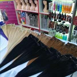Nadogradnje kose na klipse