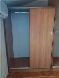Klizni plakar (američki plakar) 176x120x65 cm