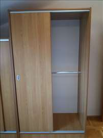 Klizni plakar (američki plakar) 215x120x65 cm