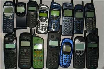 Stari kolekcionarski (retro) mobilni telefoni