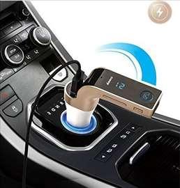 CARG 7 Transmiter Bluetooth Handsfree Punjac FM