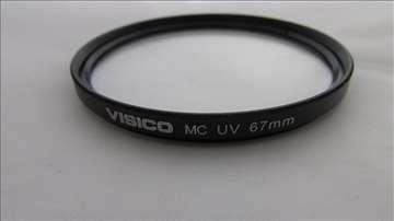 Visico MC UV filter 58mm