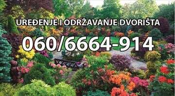 Profesionalno uređenje i održavanje dvorišta