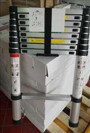 Teleskopske aluminijumske merdevine - novo