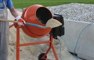 Mešalica za beton iznajmljivanje (izdavanje) NS