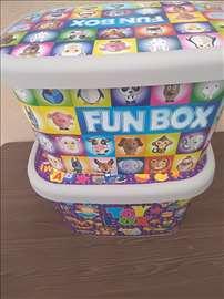 Kutije za igračke i sl 25 l