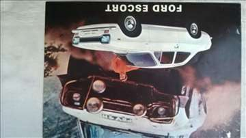 Prospekt Ford Escort,8 str. format A4.eng.