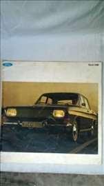Prospekt Ford Taunus 15M,20 str. format 29x29cm