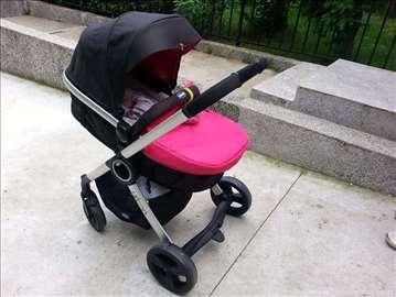 Chicco Urban kolica 3u1 - pink dezen