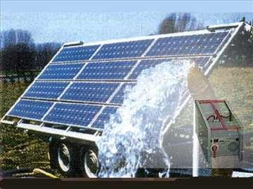 Mobilno solarno električno navodnjavanje- Novo!