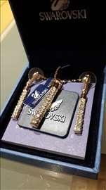 Swarovski komplet ogrlica i mindjuse