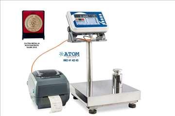 Platformska vaga sa štampačem do 1500kg B-Smart