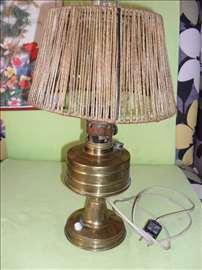 Stara stona lampa - mesing