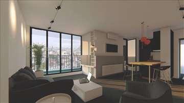 Neodoljiv stan sa fantasticnim pogledom,43+8m2