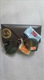 Ray Ban Aviator crne sunčane naočare