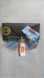 Ray Ban sunčane naočare Aviator, plave