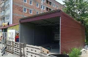 Montažna garaža 6 x 5 x 3 m