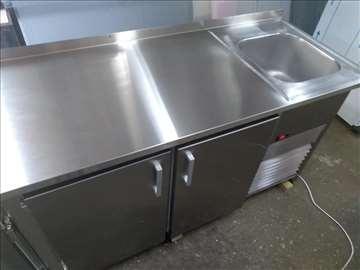 Inox radni stolovi i sudopere - po meri