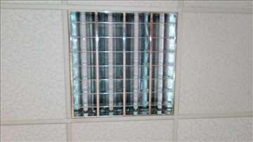 Neonska ugradna plafonjera za Armtrong plafone 60-