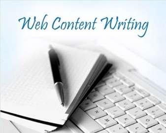 Pisanje originalnih tekstova za web sajtove