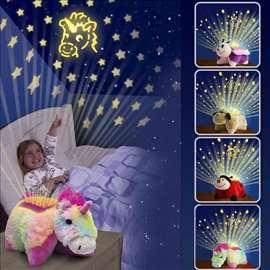 Svetleci jastuci- lampe Zvezdano nebo - Jednorog
