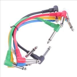Patch kablovi, pec kabl, komplet 6 komada od 30 cm
