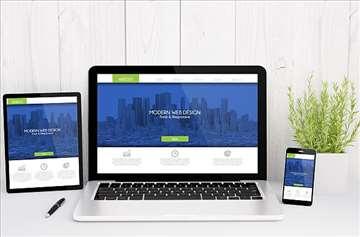 Besplatan Web Sajt Dizajn