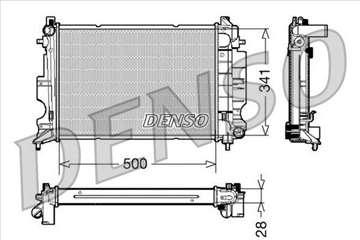 SAAB 9.3 2.0B/2.3B Hladnjak Vode Motora 98-02 MAN,