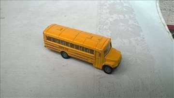 Siku School bus 1319,oko 1:87 (8,5 cm)