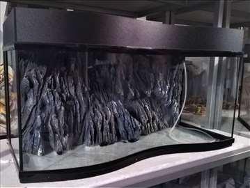 Akvarijum 130L, 3D pozadina