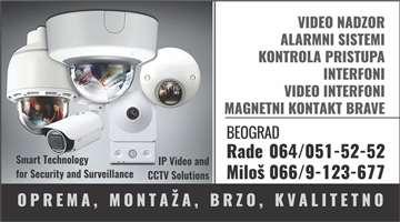 NAJPOVOLJNIJA UGRADNJA video nadzora i alarmnog si