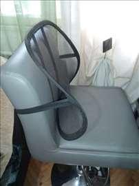 Naslon za  kompjuterske stolice, sedište u autu