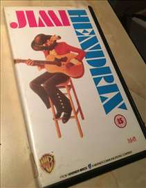 Jimi Hendrix -vhs original kaseta