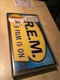 REM vhs original kaseta