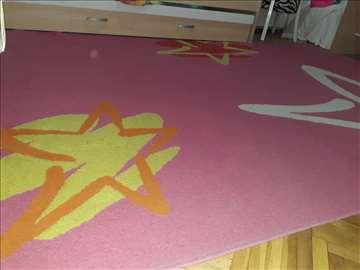 Tepih, roze boje, 290x200