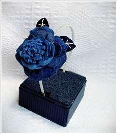 """Rajf """"Rascvetala ruža"""" - ručni rad"""