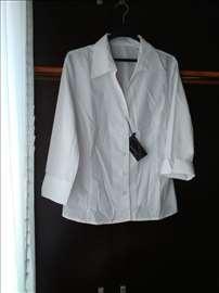 Bela zenska košulja (vel. 40-42) - novo!