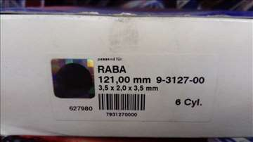 Set karika  SM za Rabu fi 121mm