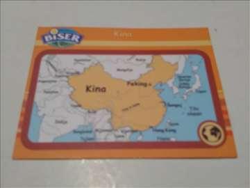 Biser kartica znanja Kina