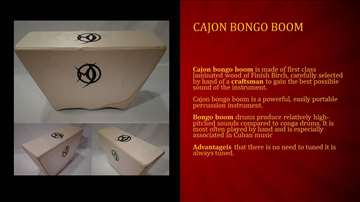 Cajon bongo boom